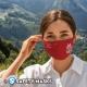 Βαμβακερή μάσκα με σχέδια