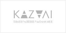 Kazali ξένες γλώσσες logo