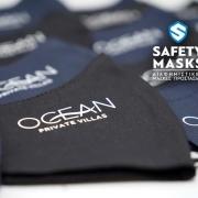 Ocean private villas μάσκα προστασίας